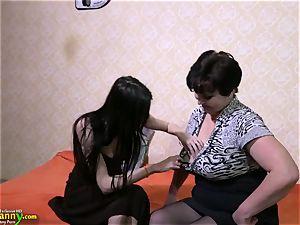 OldNanny mature grandmother femmes and nubile girly-girl