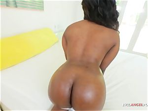 giant booty black ultra-cutie teases firm in pov