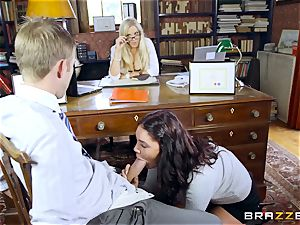 gigantic dicked tutor porks beautiful schoolgirl Emma Leigh