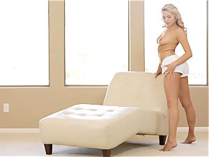 witness her strip and make herself jizm