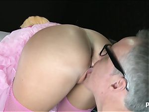 Lissa's pussy is pink like candy