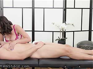 masseur Ella Knox And Her european step-brother In Law