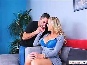 Brandi love hefty orb mummy pounds stud