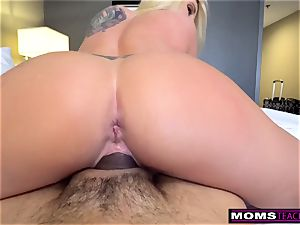 masturbating Off To My Step mummy And She Wakes Up! S9:E6