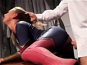 Hero Carter Cruise pounds a wild leader