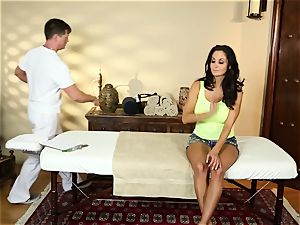 Ava Addams in the rubdown apartment