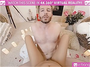 VR porno - Thanksgiving Dinner becomes super-naughty fucking