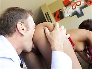 Smoking torrid skin Diamond torn up by Rocco Siffredi