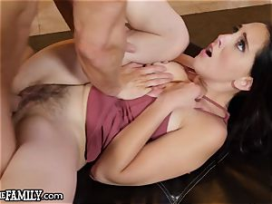 Nagging wife plays mom and demands sausage