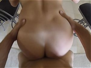 super-cute Keisha Grey penetrated point of view