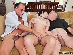 aged teacher nubile chick More 200 years of penis for this luxurious dark haired!