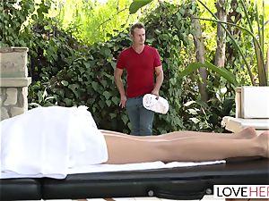 LoveHerFeet - Riley Reid Seduced By Creepy Stranger