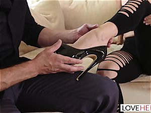 LoveHerFeet - I suggested My soles And He Made Me spunk