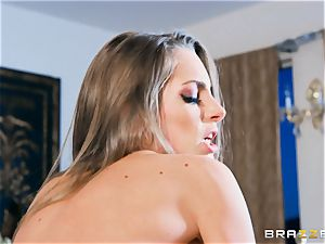 Kimmy Granger arched over and penetrated stiff