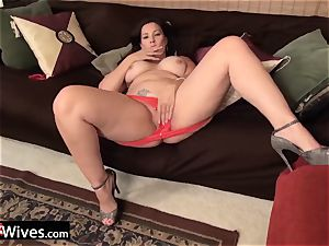 USAwives luxurious Mature nymphs Solos Compilation