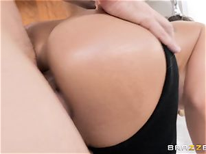 Cali Carter taking it hard in her butt