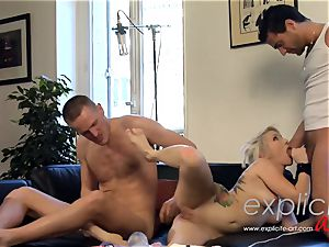 white Coopers 1st xxx three way and