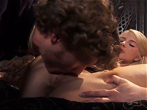 sizzling princess Anikka Albrite awoken with a plumb