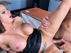 Brooklyn chase tears up her college girl Jessy Jones