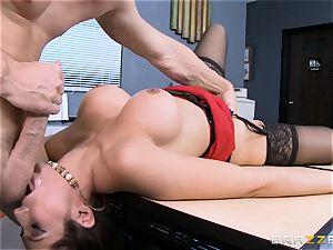 Reena Sky porks her huge dicked fucking partner