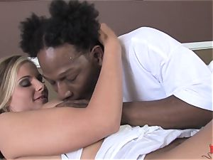 Erin Moore and Phoenix Marie take it ebony