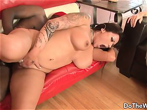 ebony dude bangs wife Nikita Denise