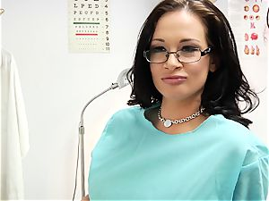 muddy physician Tory Lane enjoys it in the backside