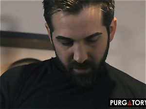 PURGATORY I let my wifey poke two men in front of me