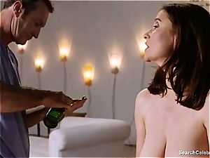 sumptuous Mimi Rogers gets her whole bod groped