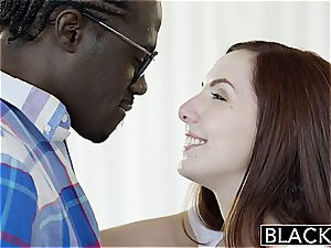Nerdy Ember Stone takes her first black manhood