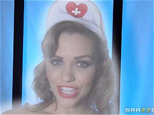 dream nurse Mia Malkova gets her patient thru his operation