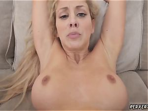 cougar caboose to jaws and legitimate birthday first time Cherie Deville in Impregnated By My