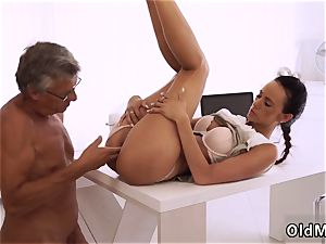 immense aged super-naughty stud very first time finally she s got her manager prick