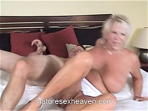 granny Getting Laid While Her spouse sees