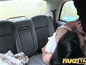 faux cab wondrous milf Candi Kayne plowed rigid