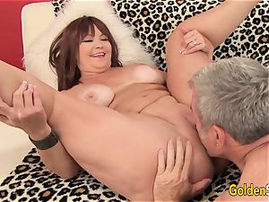 Mature Hoochie Isabelle enjoy Is plumbed by a Goateed fellow