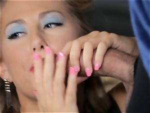 Penny Pax and Carter Cruise service a yam-sized boner