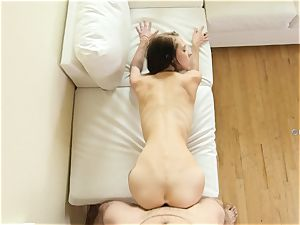 ultra-kinky babe Lola Hunter porked deep in her uber-sexy mouth-watering slick muff