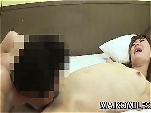 Hiroko Nagatomo - super-naughty JAV wife furry muff Creampied