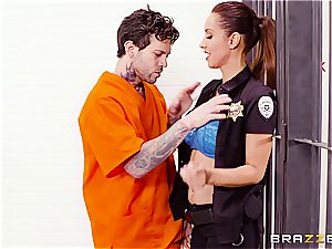 Don't drop the soap in Brazzers prison