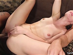 blondie ultra-cutie dp fuck-a-thon fucked at the gym