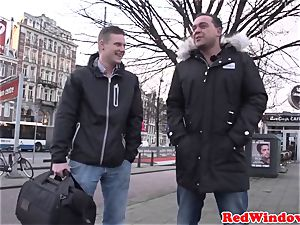 bbw amsterdam tramp fucked by client