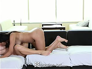 Naomi Kennedy and Natalia Starr sharing a beef whistle
