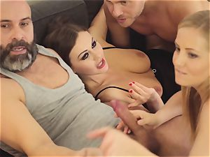 LOS CONSOLADORES - super-fucking-hot swinger 4some with super hot babes