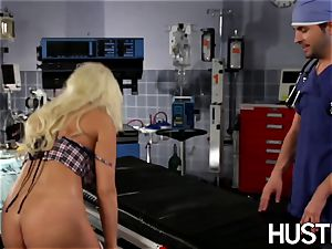 marvelous Britney Amber fucked during doctors exam