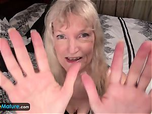 EuropeMature aged grannie Cindy gone too super-naughty