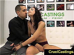 magnificent Gina Valentina restricted and dominated