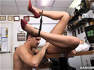 Selena Santana showcases off her skills