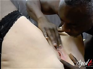 AgedLovE Lacey Starr bi-racial xxx rectal