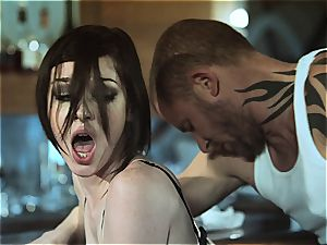 Stoya has a immense meal